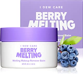 I DEW CARE Berry Melting | Makeup Remover Cleansing Balm with Jojoba Oil | Double Cleanse Technique | Korean Skincare, Vegan, Cruelty-free, Gluten-free, Paraben-free