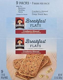Quaker Breakfast Flats, Cranberry Almond, 54 Count