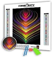 18X29 Owl Dream Catcher TINMI ARTS 5D Diamond Painting Full Round Kits for Adults DIY Mosaic Cross Stitch Pattern Handmade Embroidery Kits Wall D/écor