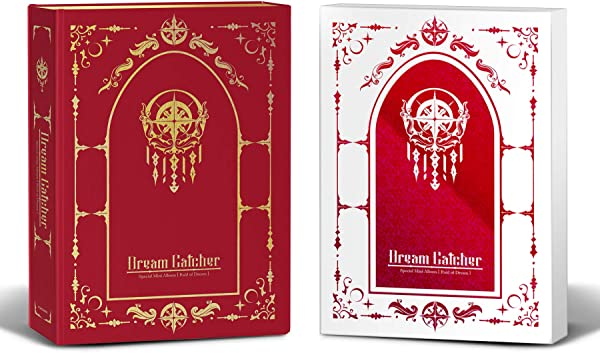 Dreamcatcher Raid Of Dream Normal Edition Limited Edition Set Special Mini Album Pre Order 2CD 2Photobook 1Folded Poster With Extra Decorative Sticker Set Photocard Set