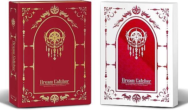 Dreamcatcher Raid Of Dream Normal Edition 限量版套装 Special Mini Album 预购 2CD 2Photobook 1 折叠海报带 Extra Decorative Sticker Set Photocard Set