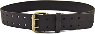 Style n Craft 74-052 2-Inch Work Belt in Heavy Top Grain Oiled Leather, 32-Inch to 46-Inch