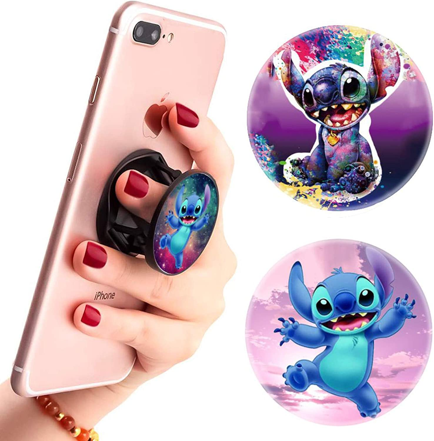 (3 Pack) Multifunction Disney Super Special SALE held Cell Finger Outlet SALE Stand Phone