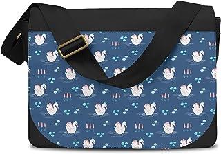 Swan Lake Princess Messenger Bag - One Size Messenger Bag
