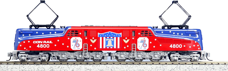 Kato USA Model Train Products GG1  4800 Conrail  Bicentennial  N Scale Train