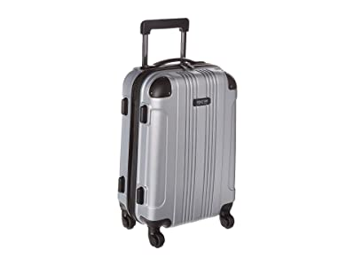 Kenneth Cole Reaction 20 Out of Bounds Lightweight Hardside 4-Wheel Spinner Carry-On Travel Luggage (Light Silver) Luggage