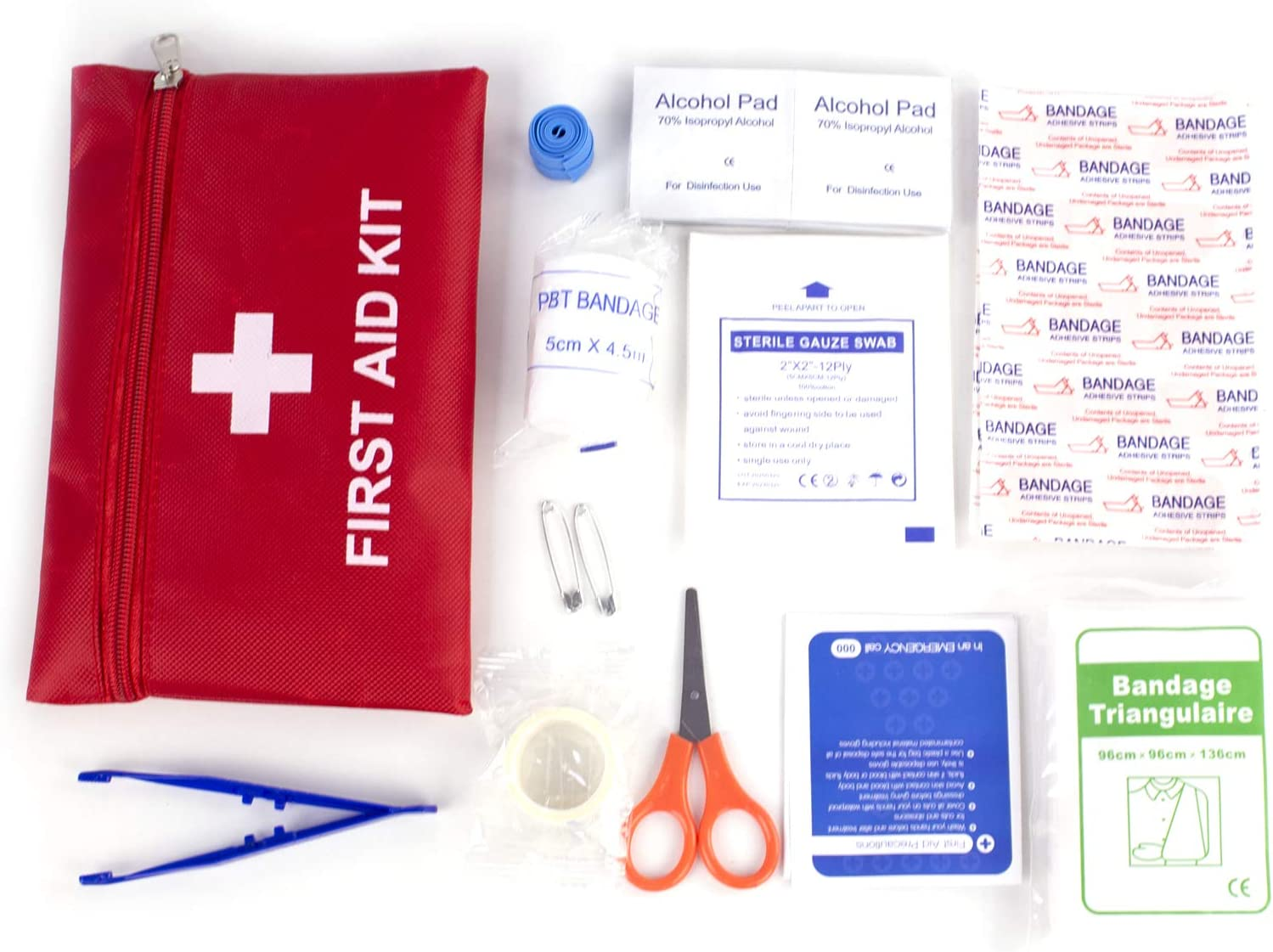 First Aid Kit Small Emergency with Medical Max Max 50% OFF 49% OFF Essential Survival 40