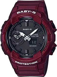 baby g shock watch red