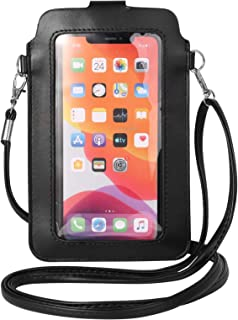 Women Touch Screen Crossbody Phone Bag Shoulder Purse Card Holder for Samsung Galaxy S20 5G,S20 Plus,Note 20/10,S10 Plus, ...