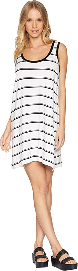 Vivanna Striped Knit Tank Dress