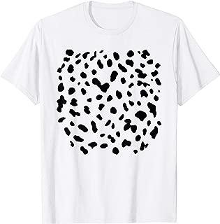 Dalmatian Dog Last Minute Halloween DIY Costume Funny Party T-Shirt