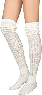 Best ivory thigh high boots Reviews
