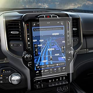 Carwiner Dodge Ram Matte Screen Protector 12 Inch Compatible with 2019 2020 2021 1500 2500 3500 Anti Glare Fingerprint Nav...