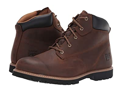 Timberland PRO Gritstone 6 Soft Toe (Brown Leather) Men