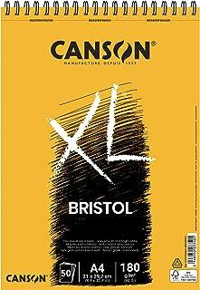 CANSON Papier bristol, blanc, A4