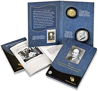 2015 P Presidential Coin & Chronicles Set - Dwight D. Eisenhower (AX2) Reverse Proof