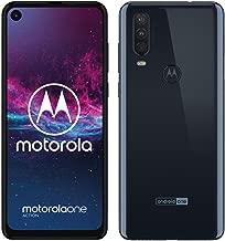 """Motorola One Action - Smartphone Dual SIM (Triple cámara: 12 MP + 5 MP y video de 16 MP con ultra gran angular, 128 GB/4 GB, Pantalla 6,3"""" FHD+, Android 9.0) - Color Azul Denim [Versión Española]"""