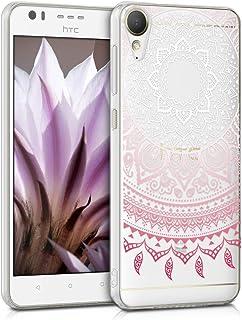 dd8dc23083c kwmobile Funda para HTC Desire 10 Lifestyle - Carcasa de [TPU] para móvil y