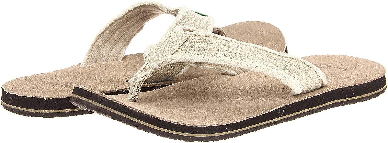 Sanuk Men's Fraid So braun braun Multi Sandal (12 D(M) US, Natural)