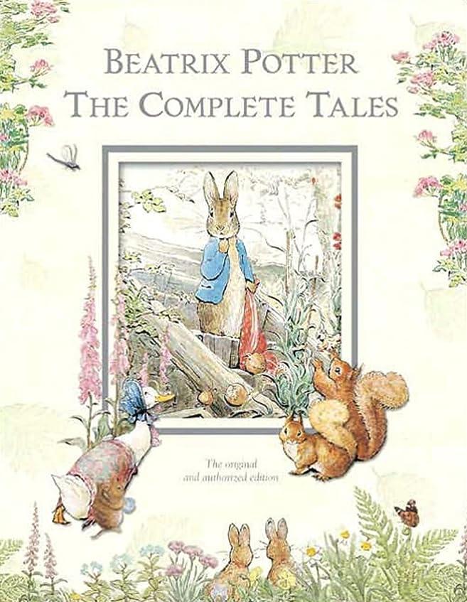 奇妙なリクルート後世Beatrix Potter The Complete Tales (Peter Rabbit): 22 other books, over 650 Illustrations, and the Audiobook of the Great Big Treasury of Beatrix Potter (English Edition)
