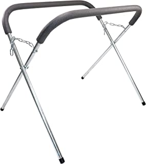 Dragway Tools 500 lbs Folding Stand for Door Panels Fenders Hoods and Parts Perfect for Body Shops Go Karts