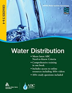 WSO Water Distribution, Grades 3 & 4 (AWWA's Water System Operations)