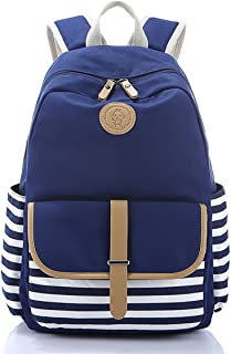 Lightweight Canvas Backpack Fashion School Bag Outdoor Travel Laptop Backpacks
