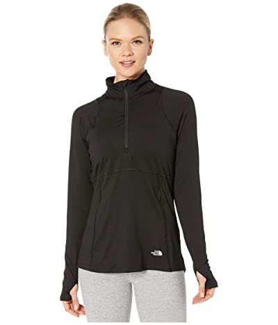 The North Face Essential 1/2 Zip (TNF Black) Women