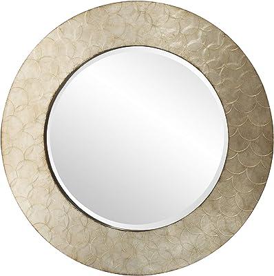 Howard Elliott Camelot Mirror, Champagne Silver