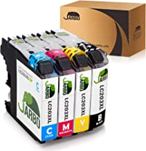 JARBO Compatible Ink Cartridges Replacement for Brother LC203XL, 1 Set, Used with Brother MFC J480DW J680DW J880DW J460DW J485DW J885DW J5520DW J4320DW J4420DW J4620DW J5620 J5720DW Printer