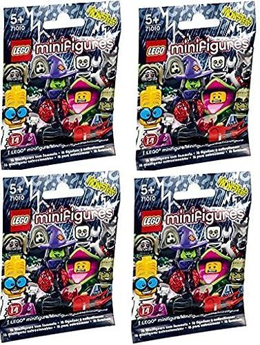 ventas en línea de venta LEGO Minifigures Series 14 14 14 Random Set of 4 (71010)  nueva marca