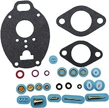 Tuzliufi Replace Carb Carburetor Rebuild Repair Kit Moline Z Marvel Schebler TSX carburetor John Deere M 40 320 330 420 430 2010 Farmall 504 Ford 801 Allis WD45 D17 Oliver Super 88 K7515 778-515 Z283