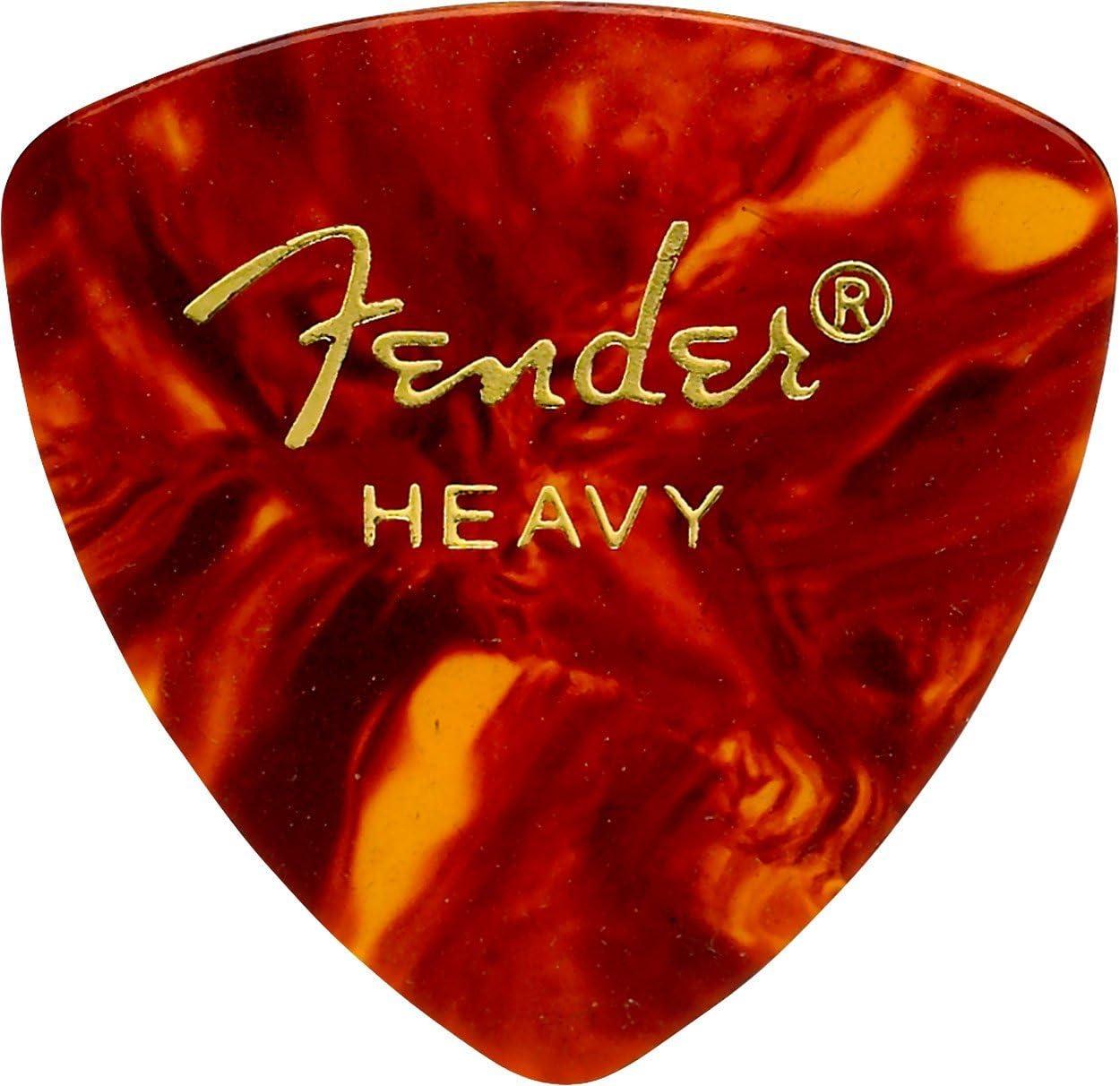 Fender Accessoires Moto Style Guitare Picks Lot de 12 M bleu