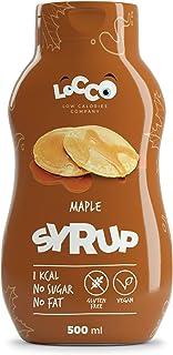 LOCCO - Sirope de arce sin azúcar bajo en calorías