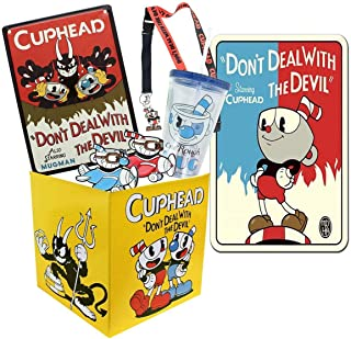 Toynk Cuphead Collectibles | Cuphead Looksee Collector's Box Version 2| Editor's Collection