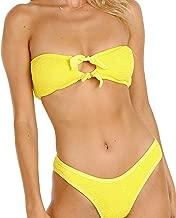canary yellow bikini