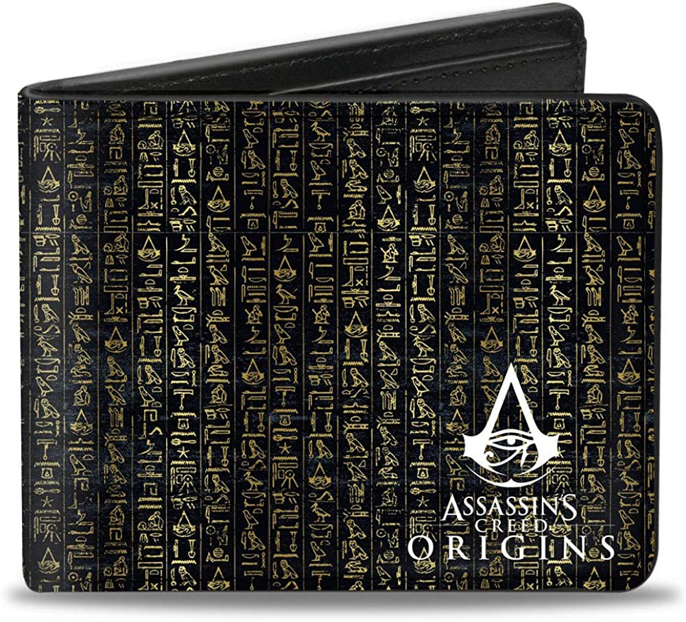 Buckle-Down Men's Standard Bifold Wallet Same day shipping Creed Reservation Assassin's 4.0