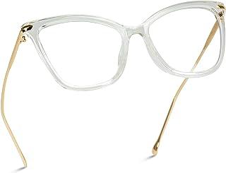 New Elegant Oversized Clear Cat Eye Glasses
