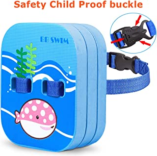 BBSWIM Back Float for Kids Children Safety Swim Bubble with Adjustable Premium Layers Swim Belts Comfortable Waterproof Floaties Device for Kids Toddler Swimming Floats (10lb-60lb)