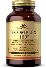 """Solgar B-Complex """"100"""", 100 Vegetable Capsules - Heart Health - Nervous System Support - Supports Energy Metabolism - Non ..."""