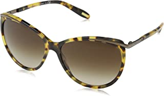 RALPH Women's 0RA51504/13 Sunglasses, Spotty Tort/Brown Gradient, 59