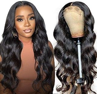 Lace Front Wigs Human Hair Body Wave 4x4 Lace Closure Wigs for Black Women 150% Density Brazilian Virgin Human Hair Wigs P...