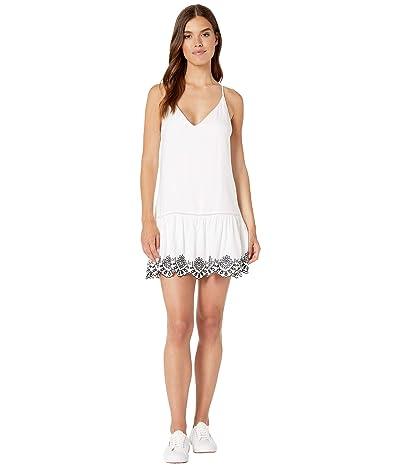 BB Dakota Let It Slip Dress (Optic White) Women