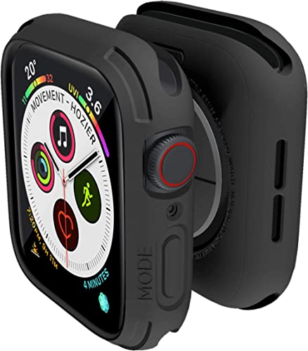elkson Compatible with Apple Watch Series 6 SE 5 4 Bumper case Cover 44mm iwatch Quattro Series Cases Fall Protection...