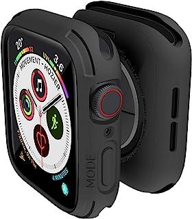 Elkson Quattro Apple Watch Series 6 SE 5 4 44mm対応 バンパーケース TPU 柔軟 耐衝撃性 全面保 護