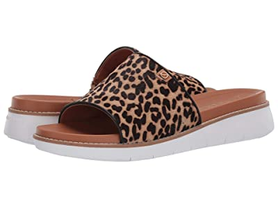 Cole Haan Zerogrand Global Slide Sandal (Mini Cheetah Print/Pecan/Optic White) Women