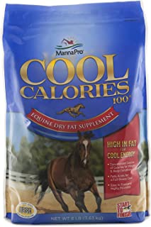 Manna Pro Cool Calories 100 Fat Supplement for Horses