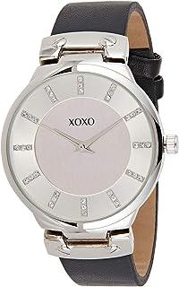 XOXO Women's Silver Dial Leather Band Watch - XO3469