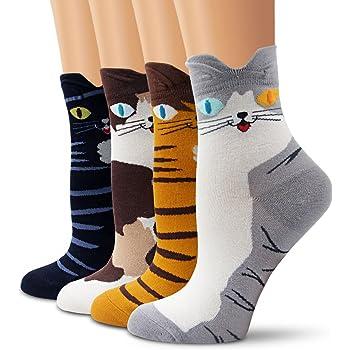 Jia Li Cute Sheep Unisex Funny Novelty Casual Soft Cotton Socks
