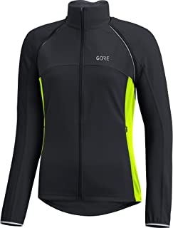 GORE Wear Women's Windproof Cycling Jacket, Removable Sleeves, C3 Women's Windstopper Phantom Zip-Off Jacket, Size: L, Color: